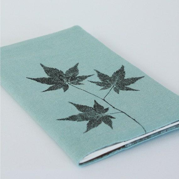 mist japanese maple notebook cover