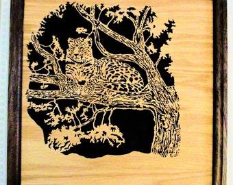 Watchful Leopard Portrait