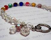 RESERVED - Custom Birthstone Bracelet (Sheila)