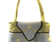 Handbag Shoulder Purse for handmade with amy butler optic blossom fabric