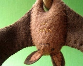 Ophelia the Bat - Small Felt Plush