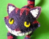 Cheshire Cat the Tiny - Small Felt Plush
