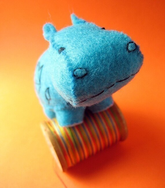 Tawa the Hippo - Small Felt Plush