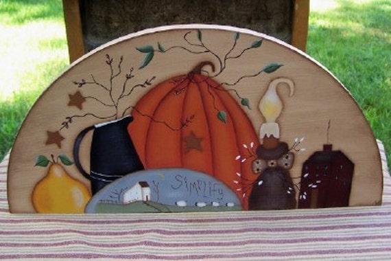 Door Crown-Primitive-Fall-Pumpkin