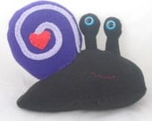 Slimey Snail Plush Stuffed Toy