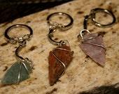 Arrowhead Key Chains--Lot of Three