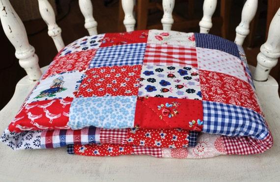 Dutch fabric quilt