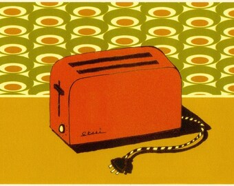 Toaster (Open Edition Print)
