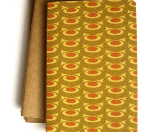Ruled Notebook with Wallpaper (Olive)
