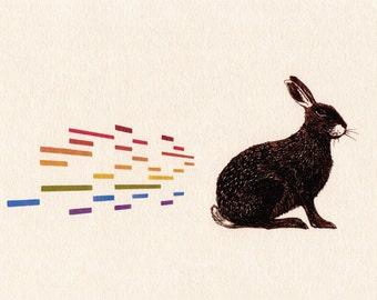 The Irish Hare (Open Edition Print)