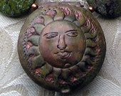 sun tin necklace