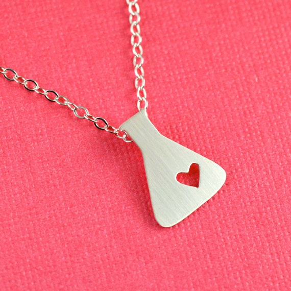 Love Potion Necklace in Silver