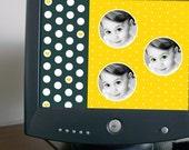 Custom-Designed Desktop Wallpaper (Three Circles)