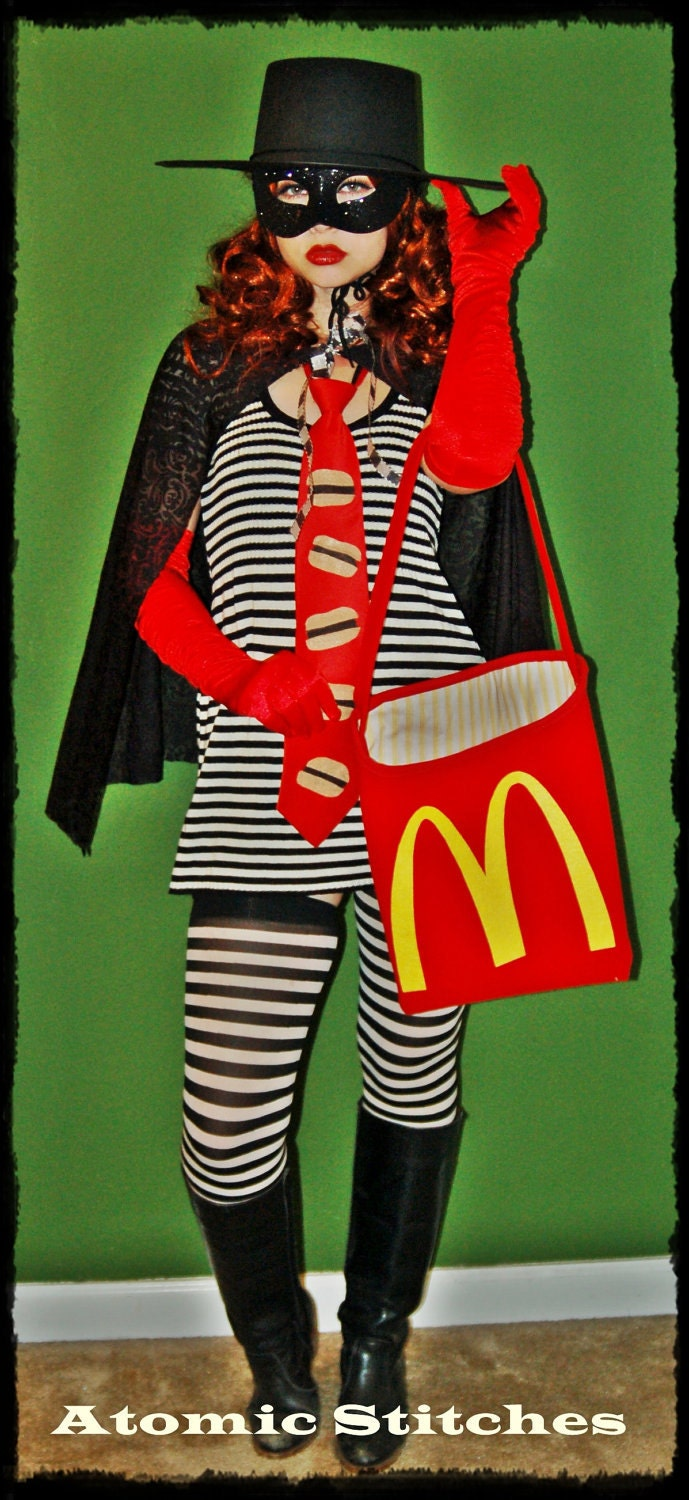 French Fries Halloween Costume