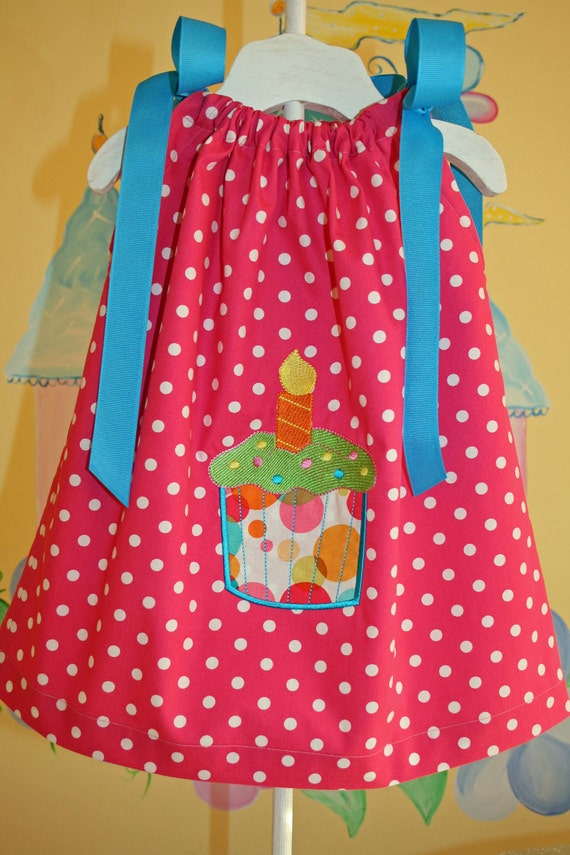 Ready to Ship --- Baby's First Birthday Dress ---BRIGHT--- 12-18 months