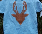 Deer in the Headlights BLUE edition Christmas Boutique Boy 2 3