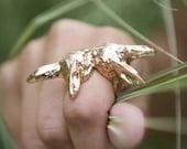 Bunny Love Ring in Gold
