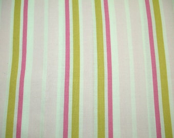 Little House fabric by Annette Tatum Ice Cream Stripe AT32 - 1 FQ fat quarter