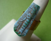 Egyptian Ring in Turquoise