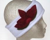 White Lotus Thermal Fleece Ear Warmer