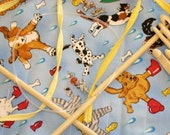Knitting Needles Case  Raining Cats n Dogs