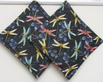Dragonfly Pot Holder Set of 2