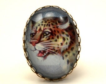 Def Leopard Cocktail Ring