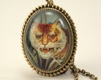 i of the tiger Deluxe Necklace