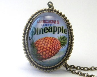 Luscious Pineapple Deluxe Necklace
