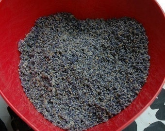 Montana Grown 1/2 pound Organically Grown Dried Lavender Buds