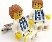 Soccer Player Cufflinks
