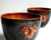 Honey Bee Stoneware Bowl