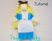 Character Ribbon Sculpture Tutorial INSTANT DOWNLOAD