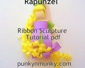 How To Make Rapunzel Ribbon Sculpture Tutorial Ebook PDF INSTANT DOWNLOAD