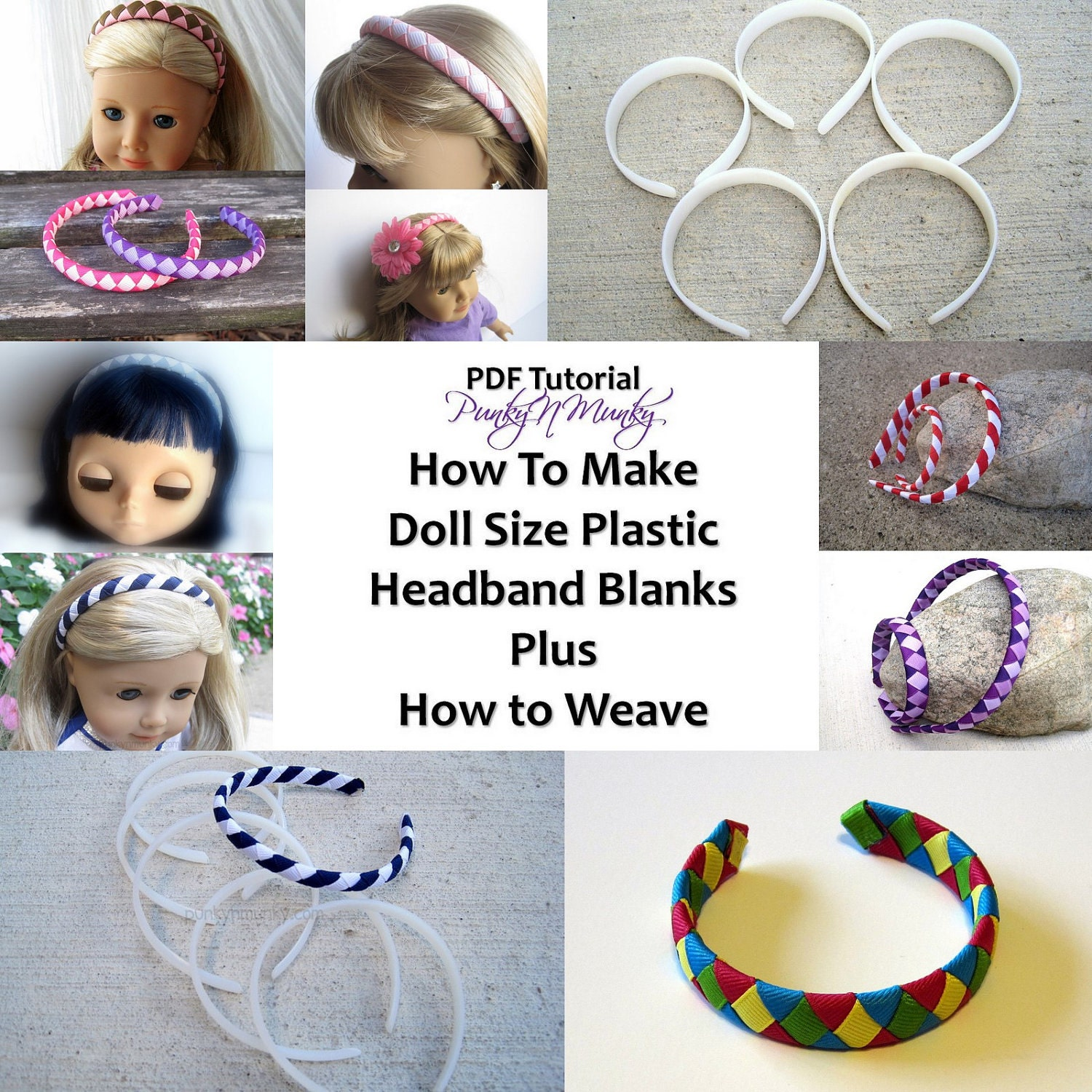 Plastic headbands for crafts - Like This Item