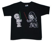 Star Calaveras Youth T-Shirt X-Small, Small, Medium, Large in Black