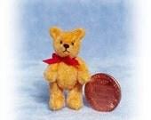 Goldie - Miniature Teddy Bear Kit - Pattern - by Emily Farmer