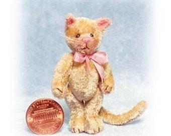 Tinker Kitty - Miniature Cat Kit - Pattern - by Emily Farmer