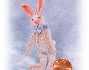 Lanky Bunny Miniature Rabbit Kit - Pattern - by Emily Farmer