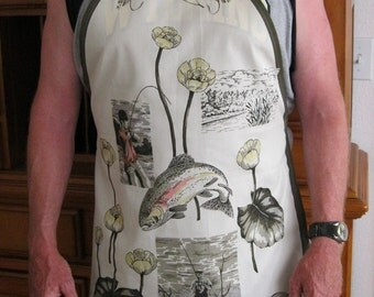 Fisherman Full  Apron