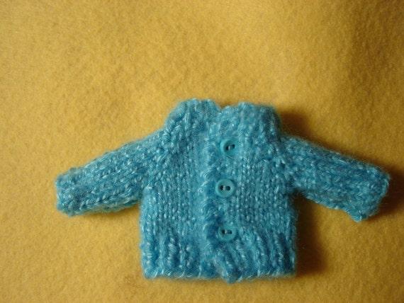 Blythe Off Shoulder Turquoise Cardigan REDUCED