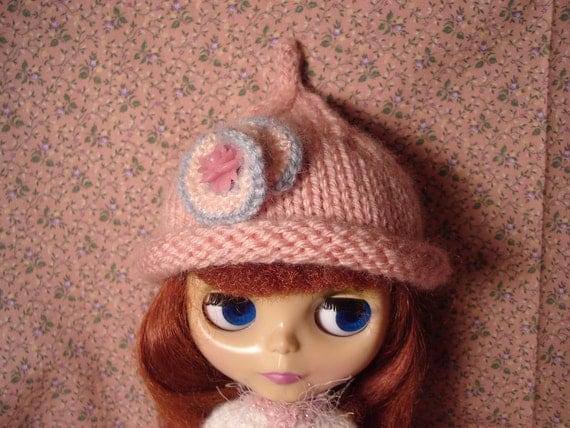 Blythe Pink Pixie Hat