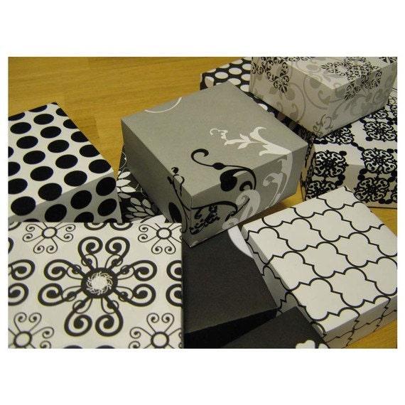 MY GAY Wedding - Black On White - Gift Boxes