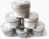 TEN Soy Candles- RESERVED for Stephanie- 4 oz. Tins