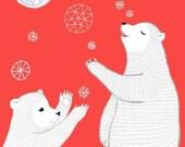 Baby Snow Bears
