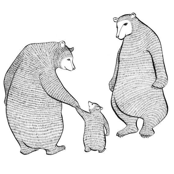 Tasty Original Magic Bears-Limited Edition Print - Wall art