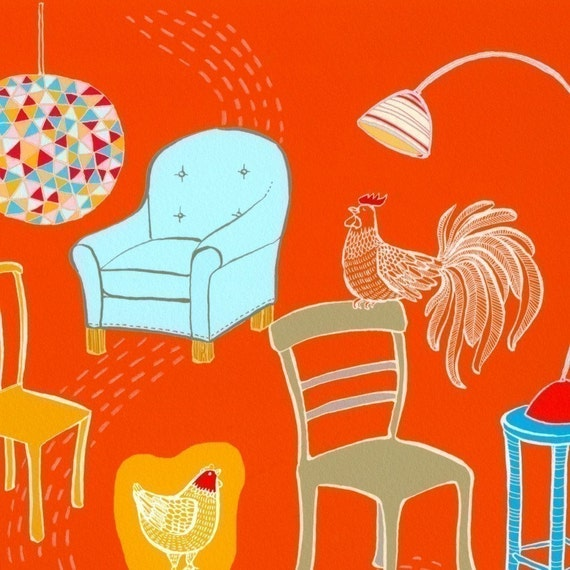 Martin's Chair Collection - Limited Edition Print