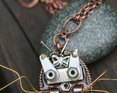 Meow- An Upcycle necklace