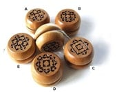 Hand Carved Wooden YoYo