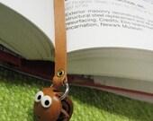 SNAKE 3D Zodiac Leather Mini Animal Bookmark VANCA Petit Mascot